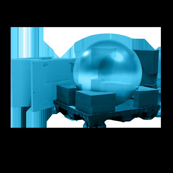 Contenedores especiales para embalaje industrial