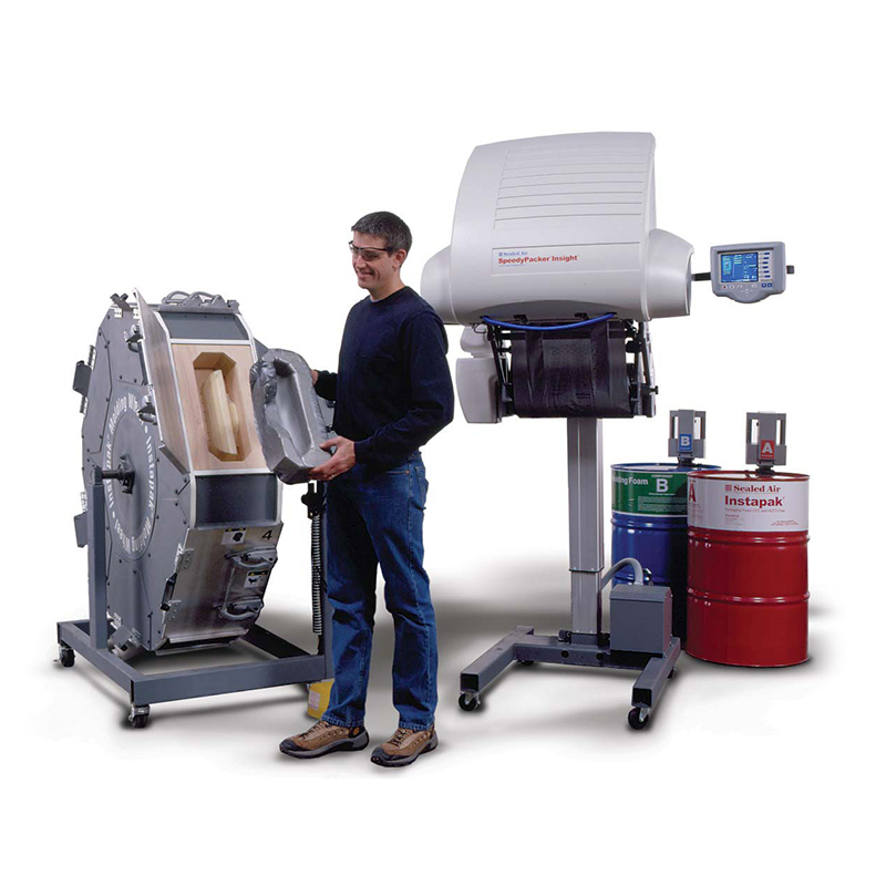 Distribución de maquinaria de embalaje