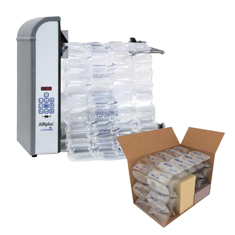 Distribución de maquinaria de cojines de aire