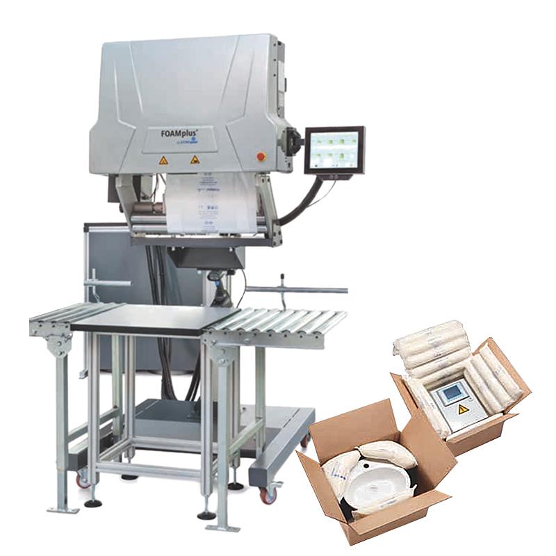Distribución de maquinaria de cojines de espuma